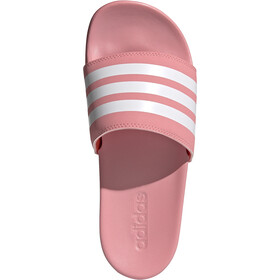 adidas Adilette Comfort Slides Women super pop/footwear white/solar red